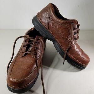 Nunn Bush Mens Cam Moc Toe Casual Oxford Shoes 9.5